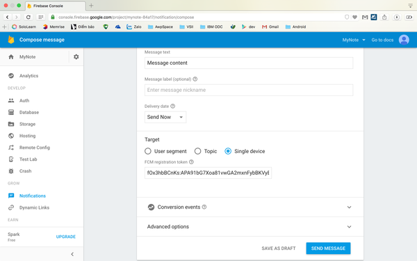 Implementing Firebase Cloud Messaging (FCM) into your Android App
